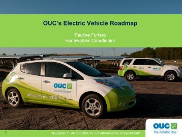 OUC's Electric Vehicle Roadmap - Orange County Extension ...
