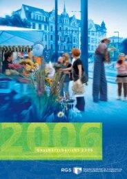 Geschäftsbericht von 2006 - RGS