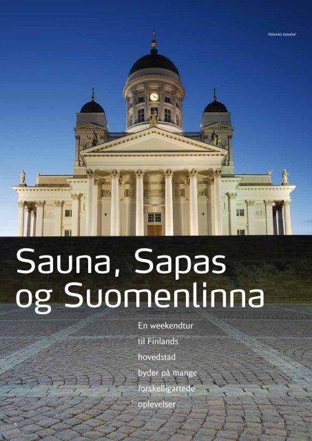 Sauna, Sapas og Suomenlinna