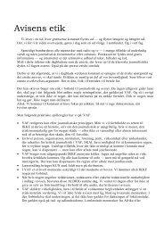 Vejle Amts Folkeblads etik (PDF-fil)