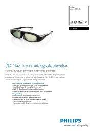 PTA518/00 Philips Aktive 3D-briller