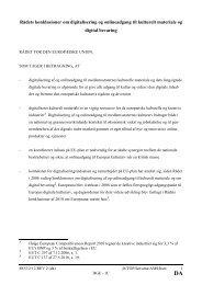 Læs rådskonklusionerne om digitalisering af og onlineadgang til ...