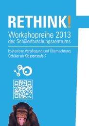 gibt es den aktuellen Flyer! - Schülerforschungszentrum Sachsen eV