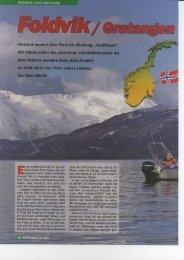 Sven Weide von der Zeitschrift Raubfisch war vor Ort... - DinTur