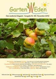 Das wedische Magazin . Ausgabe Nr. 46 ... - Garten Weden