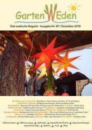 Das wedische Magazin . Ausgabe Nr. 47 ... - Garten Weden