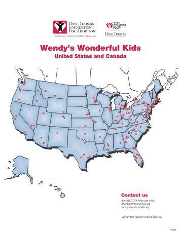 Wendys Wonderful Kids Case File Dave Thomas Foundation For