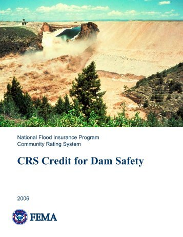 CRS Credit for Dam Safety - Emergency Management Institute ...