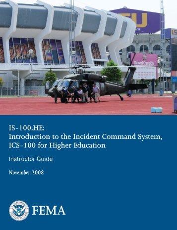 emergency management institute