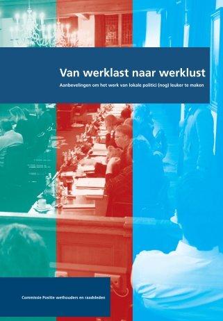 Van werklast naar werklust - Vereniging van Nederlandse Gemeenten