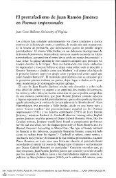El prerrafaelismo de Juan Ramón Jiménez en Poemas impersonales