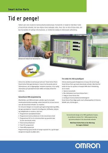 Smart Active Parts Brochure - Omron Europe