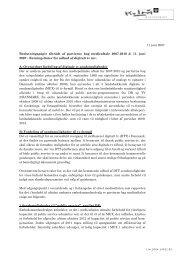 Beslutningspapir - Retningslinier for udbud af ... - Kulturministeriet