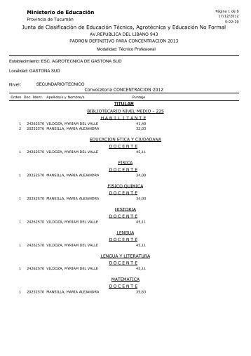 concentracion 2013 escuela agrotecnica de gastona sud