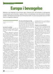 Dansk Vejtidsskrift 2011/08 Europa i bevægelse (743 KB)