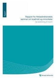 Last ned pdf - Helsedirektoratet