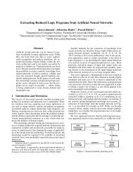 Extracting Reduced Logic Programs from Artificial Neural ... - Kno.e.sis