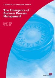 The Emergence of Business Process Management
