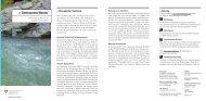 Gemessenes Wasser - Hydrologische Messwerte und ... - Bafu - CH