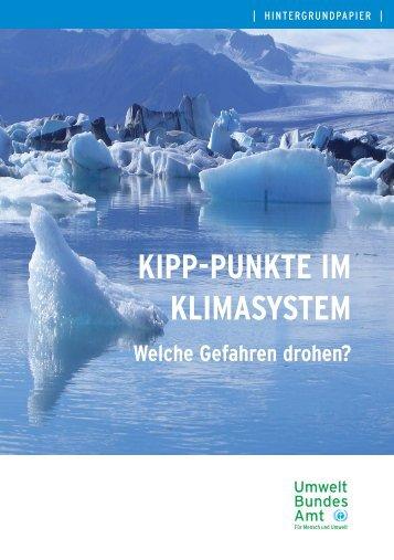 Kipp-Punkte im Klimasystem