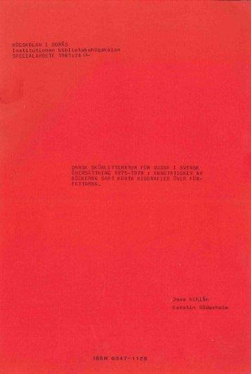 1981 nr 24.pdf - BADA - Högskolan i Borås