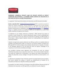 Rubbermaid Commercial Products lance des produits destinés au