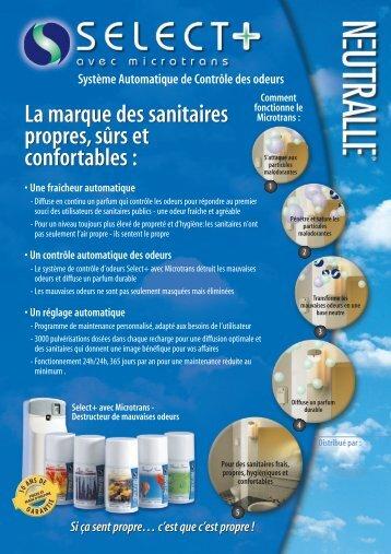 La marque des sanitaires propres, sûrs et confortables : La marque ...