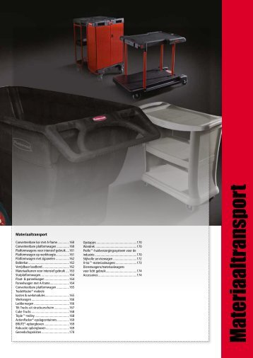 M ateriaaltransport - Rubbermaid Commercial Products