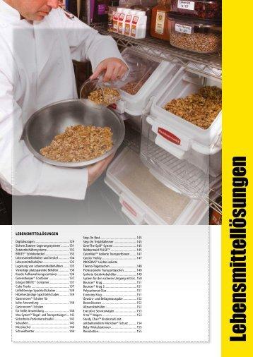 Lebensm ittellösungen - Rubbermaid Commercial Products