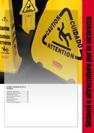 Sistem i e attrezzature per la sicurezza - Rubbermaid Commercial ...