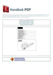 Bruker manual MAKITA DCS230T - HANDBOK PDF