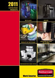cATAlOGUE PRODUITS Un sa - Rubbermaid Commercial Products