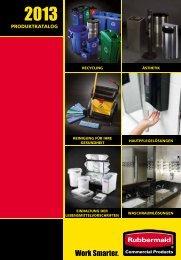 PRODUKTKATALOG Erfah - Rubbermaid Commercial Products