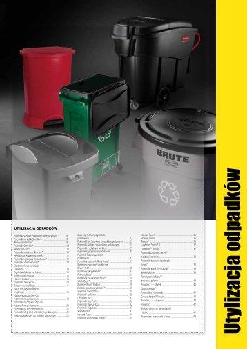 utylizacja odpadków: Recykling - Rubbermaid Commercial Products