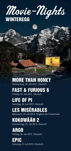 Movie-Nights - Jungfrau Region