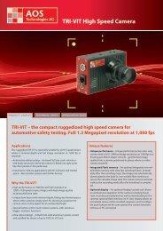 TRI-VIT High Speed Camera - AOS Technologies AG