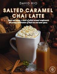 Salted Caramel Chai Latte