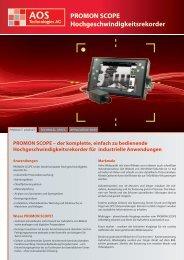 PROMON SCOPE - AOS Technologies AG