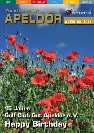 Ausgabe 03-2010 > hier - Golf Club Gut Apeldoer
