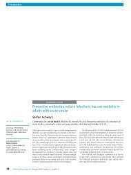 Preventive antibiotics reduce infections but not mortality in adults ...