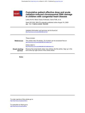 in children with congenital heart disease radiation-induced ...