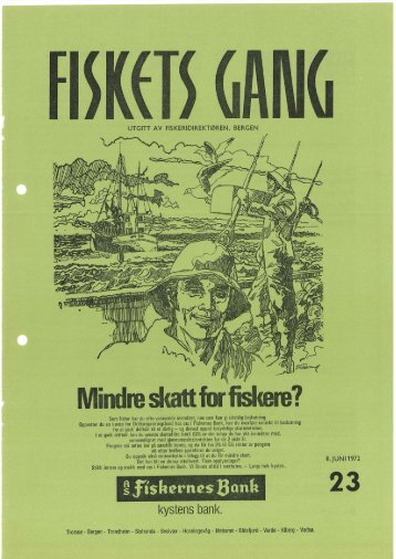 Fiskets Gang, nr 23, 1972