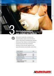 3M Atemschutzmasken zum Schutz vor Partikeln