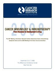 Cancer Immunology & Immunotherapy 2008 ... - Cancer Immunity