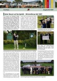 Ausgabe 04-2007 - Golf Club Gut Apeldoer