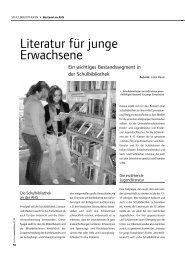 Literatur für junge Erwachsene - publikationen.bvoe.at