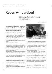 Beschwerdemanagement - publikationen.bvoe.at