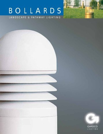 Bollard Brochure - Gardco Lighting