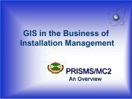 GIS in the Business of Installation Management