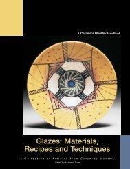 Glazes: Materials, Recipes and Techniques - Ceramic Arts Daily